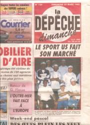 1997_ChadJ_Tahiti_LaDepeche_FrontPage_Dimanche