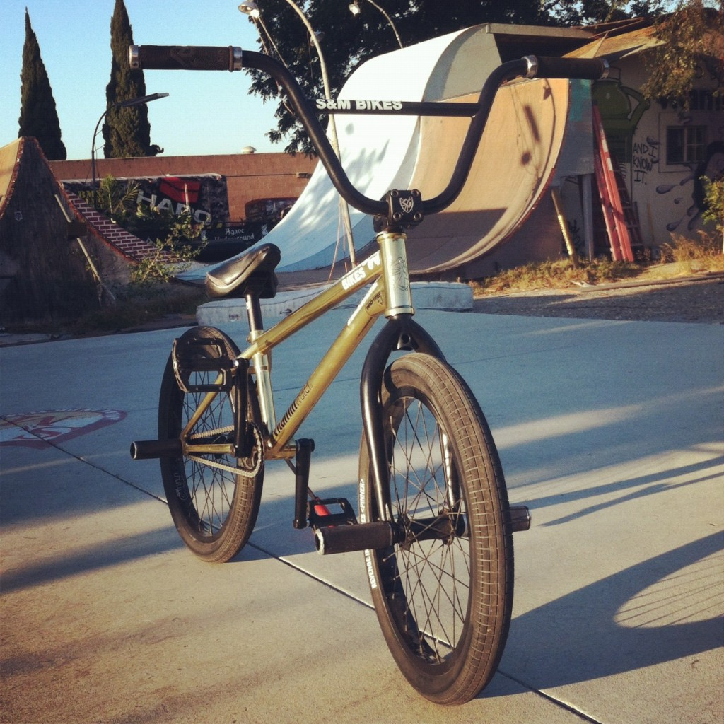 Ryan Russell's 19.5 Intrikat Flatland Bike