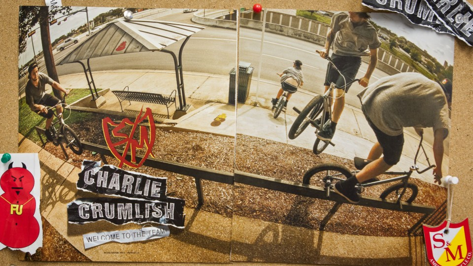 Charlie Crumlish Ad RideBMX - Jan/Feb 2014