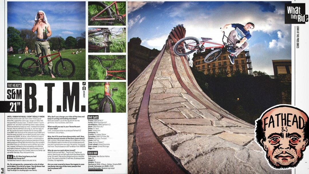 Fathead Ride UK August 2014