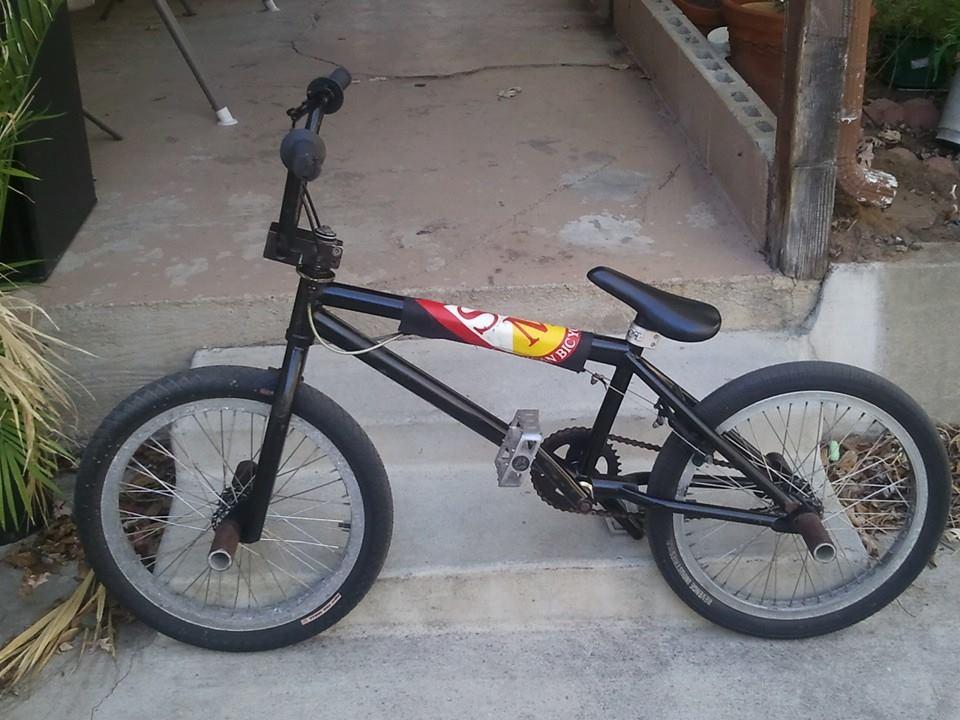 Erik B S S Amp M Black Bike V1