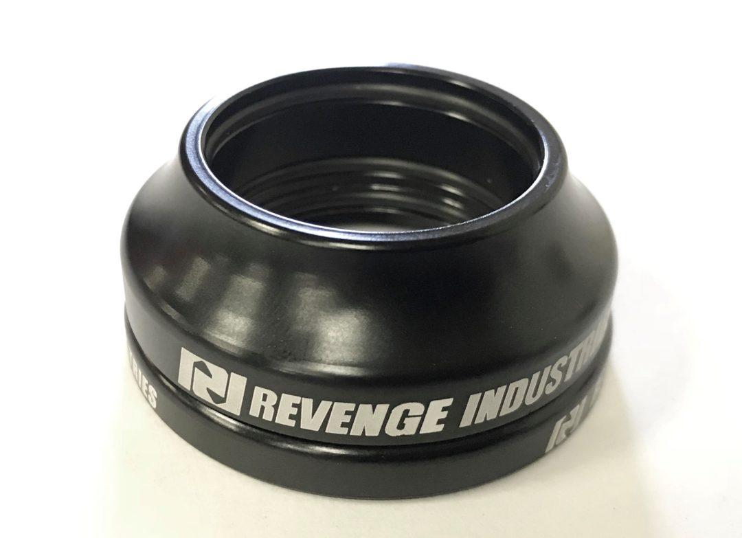 "S/&M revenge fit tall headset CAP BMX Bike headset TOP 1-1//8/""  FIT HEADSET NEW"