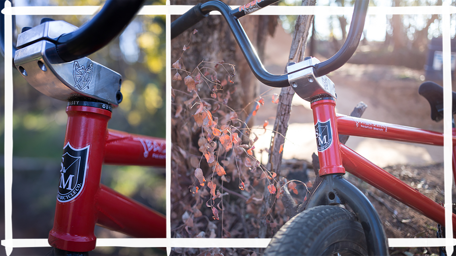 Hoder High Bars / Enduro Stem